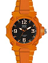 Q&Q Analog Black Dial Unisex Watch-VR56J007Y