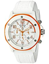 Bulova Marine Star Analog White Dial Men's Watch - 98B199