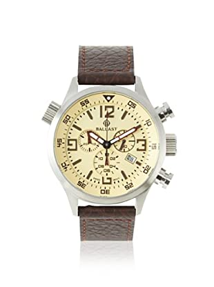 Ballast Men's BL-3103-05 Odin Brown/Beige Stainless Steel Watch
