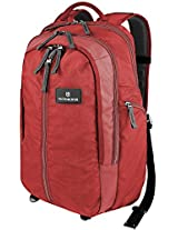 Victorinox Red and Black Laptop Backpack (32388203)