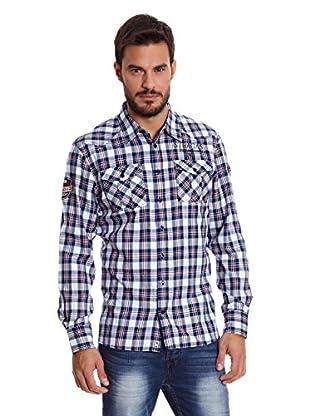 Paul Stragas Camisa Hombre Jayson (Azul Marino)