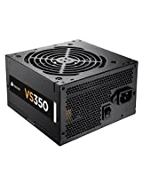 Corsair CP-9020052-WW VS Series VS350 350 Watt Power Supply Unit (Black)