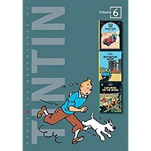 Adventures of Tintin - Vol. 6: Land of Black Gold, Destination Moon & Explorers on the Moon (The Adventures of Tintin - Compact Editions)