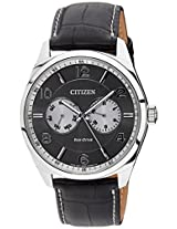 Citizen Eco-Drive Analog Grey Dial Men's Watch AO9020-09H