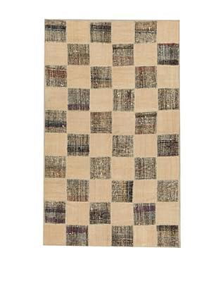 Design Community by Loomier Alfombra Tr Anatolia Patch Kilim Beige / Gris 256 x 155 cm