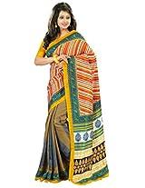 Multi Colour Bhagalpuri Art Silk Saree 5102A