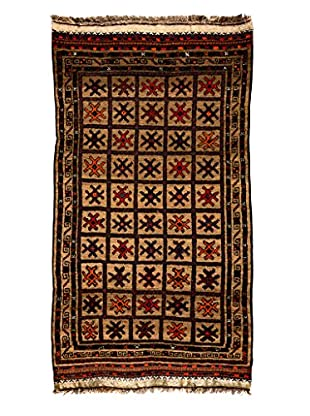 Darya Rugs Tribal One-of-a-Kind Rug, Gold, 3' 4