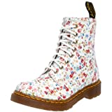 Dr. Martens Womens Floral 1460 Blue 11821407 5 UK Regular