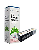 GC Tooth Mousse 40g with Herbodent Herbal Toothpaste Worth Rs.54 Free (Mint)