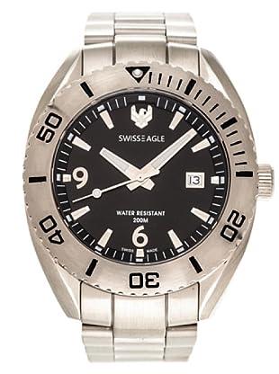 Swiss Eagle Reloj Dive Torpedo negro