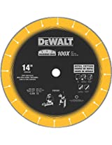 DEWALT DW8500 14-Inch (355mm) Diamond Edge Chopsaw Blade