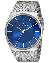 Skagen Analog Blue Dial Men's Watch - SKW6068