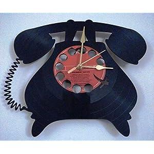 Samaya Telephone Designed Wall Clock
