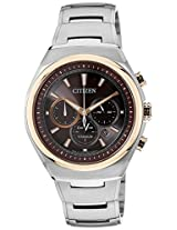 Citizen Eco-Drive Analog Brown Dial Men's Watch - CA4025-51W