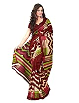 Vibes Cotton Patch Work Saree (S33-6009A _Multi-Coloured)