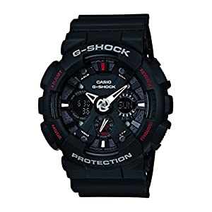 G-Shock Analog-Digital Black Dial Men's Watch - GA-120-1ADR (G346)