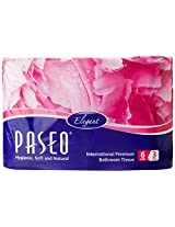 Paseo Tissues Toilet Roll 3 Ply - 300 Pulls (6 Rolls)