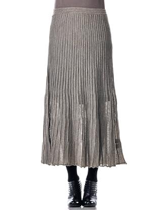 Eccentrica Falda Larga Tablas (gris)