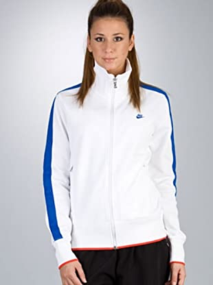 Nike Chaqueta (Blanco)
