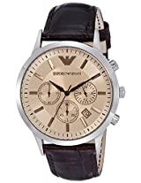 Emporio Armani Analog Brown Dial Men's Watch - AR2433