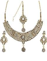 Bindhani Designer Choker Necklace Set For Girls