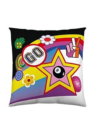 Kashi Kisu Funda Cojín Go Go Go (Multicolor)