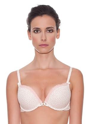 Women secret Sujetador Relleno Push Up Cotton Copa C (Rosa / Blanco)