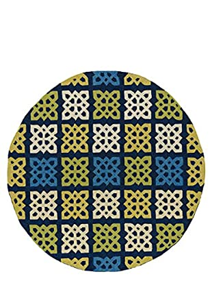 Kaleen Home & Porch Indoor/Outdoor Rug, Blue, 5' 9