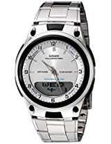 Casio Youth-Combination Analog-Digital White Dial Men's Watch - AW-80D-7AVDF (AD62)
