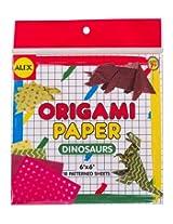 Alex Toys Craft Dinosaur Shapes Origami Paper By Alex Toys