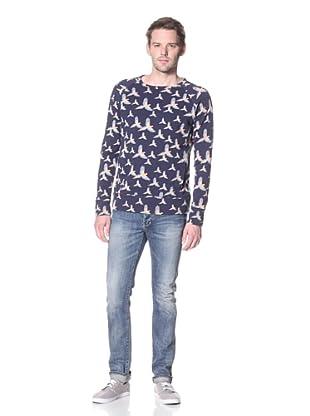 Zanerobe Men's Pirate Sweatshirt (Navy)