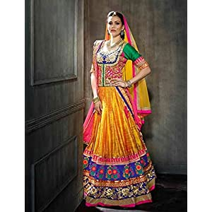 Frinkytown Multi-color Bridal Collection Lehenga