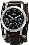 Maxima Attivo Analog Black Dial Men's Watch - 24260LMGI