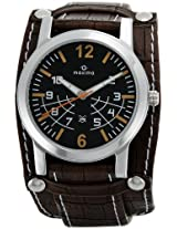 Maxima Attivo Analog Black Dial Men's Watch - 24260LMGI