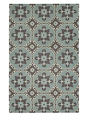 Kevin O'Brien Fortune Rectangle Loop Hooked Rug