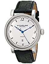 Stuhrling Original Symphony Analog Silver Dial Men's Watch - 719.01