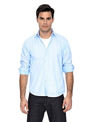 Springfield Camisa Multirayas (Azul)