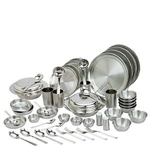 La Home Stainless Steel - Dinner Set