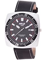 Helix Reef Analog Black Dial Men's Watch - 09HG02