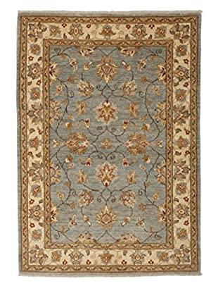 Darya Rugs Oushak Oriental Rug, Light Blue, 3' 5