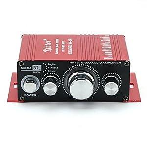 12V 2 CH Mini Digital Audio Power Amplifier AMP For HiFi MP3 Car