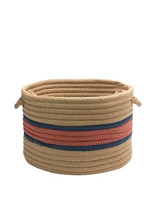 Colonial Mills Garden Band Round Basket (Terracotta/Jasmine)