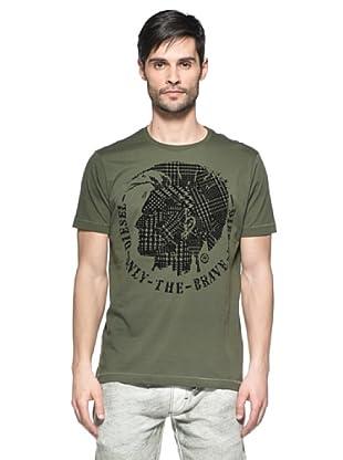 Diesel Camiseta T-Sandy-Rs (Verde)