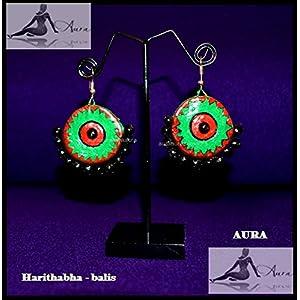 AUrA-EArTH Harithabha Earring
