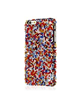 Empire Glitz Crystal Jewled Slim-Fit Case for Apple iPhone 6 Plus 5.5 - Multi Colored Bling