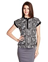 Style Quotient By NOI Women's Body Blouse Shirt