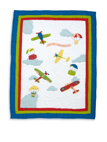Amity Home Airplane Baby Quilt (Multi)