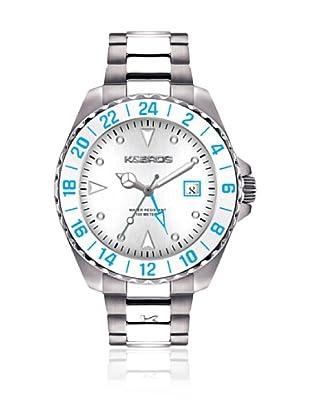K&BROS Reloj 9476 (Blanco)