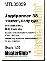 Master Club 1:35 Jagdpanzer 38 Hetzer Early White Metal Workable Tracks #Mtl35059