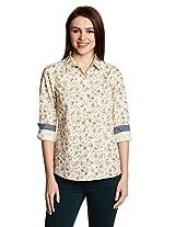 People Women's Button Down Shirt